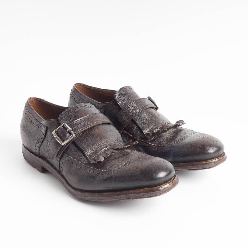 CHURCH'S - Shanghai - Glace Calf Ebony Men's Shoes Church's