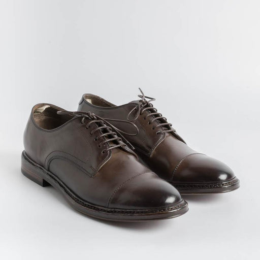 OFFICINE CREATIVE - Derby - Hopkins 009 - Ebony Man Shoes OFFICINE CREATIVE - Man Collection