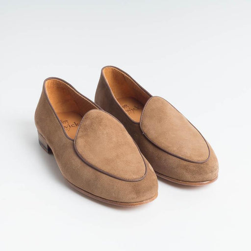 BERWICK 1707 - Woman Moccasin - Walnut suede Shoes Woman BERWICK 1707 - Woman Collection