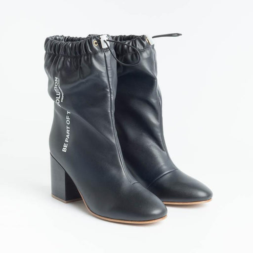 F_WD - Ankle Boots - 33014A - Black Shoes Woman Cappelletto Shop