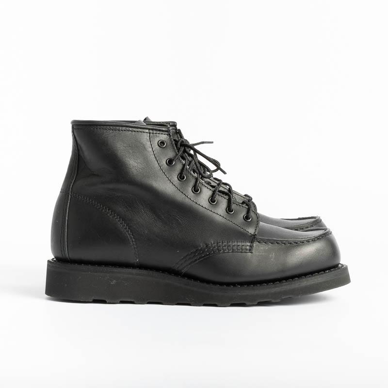 RED WING - 3380 Moc Toe - Black Boundary Shoes Woman Red Wing Shoes