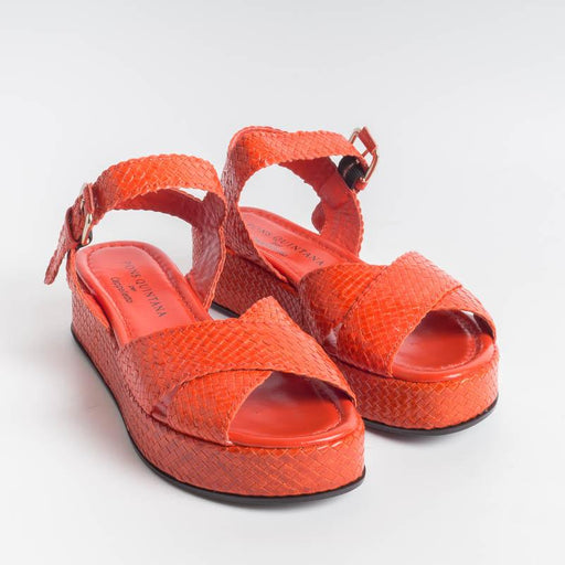 PONS QUINTANA - Sandals FORLI 8455 - Coral Women's Shoes PONS QUINTANA