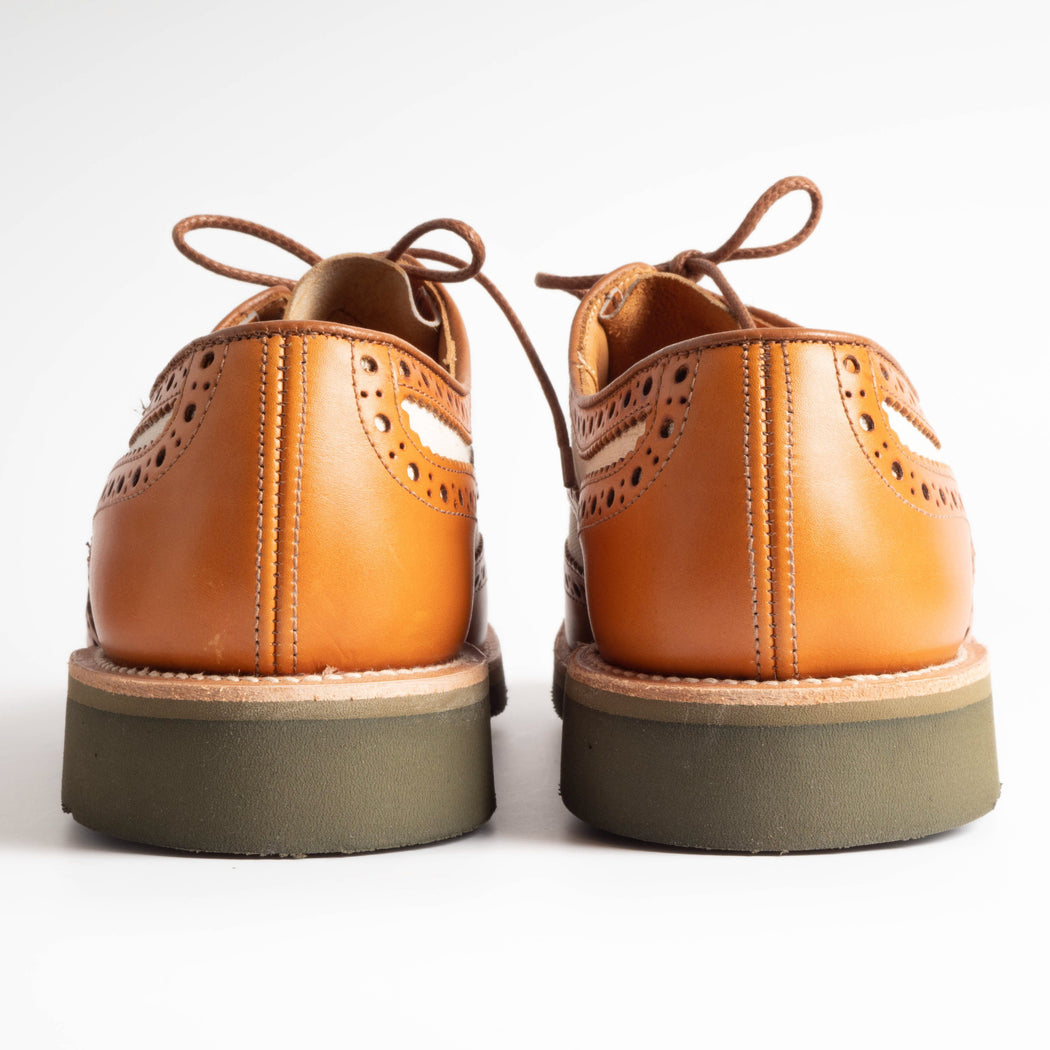 TRICKER'S - Bourton - Canvas Derby Brogue Scarpe Uomo Tricker's