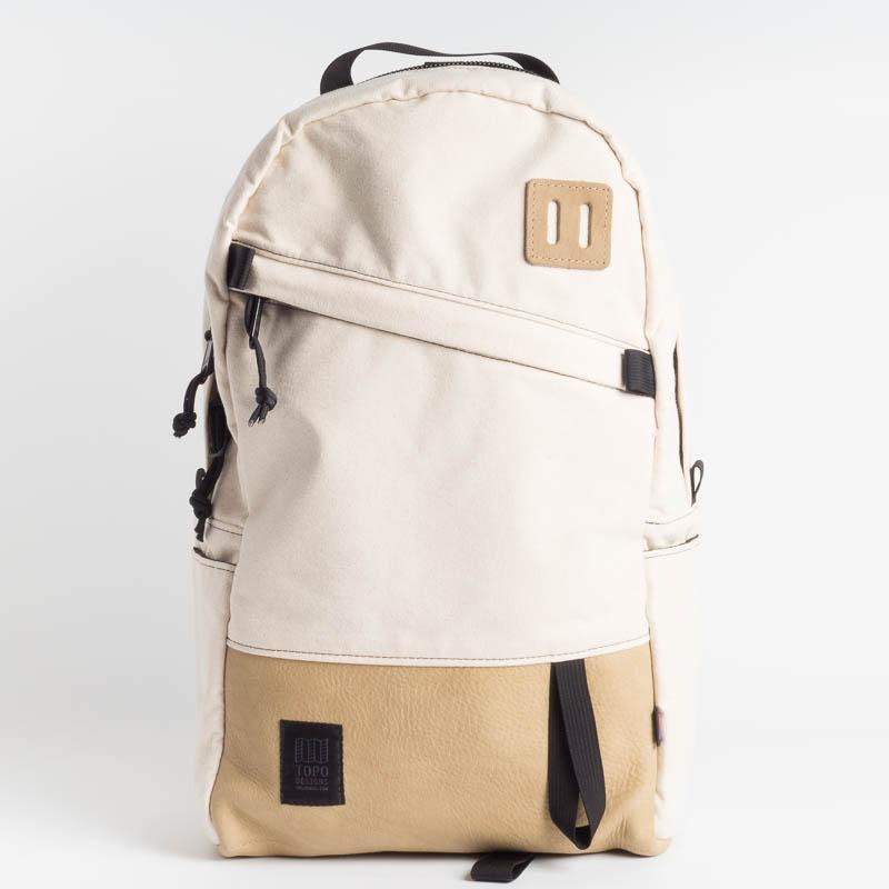 TOPO DESIGNS - Daypack - Natural Leather Accessori Uomo TOPO DESIGNS