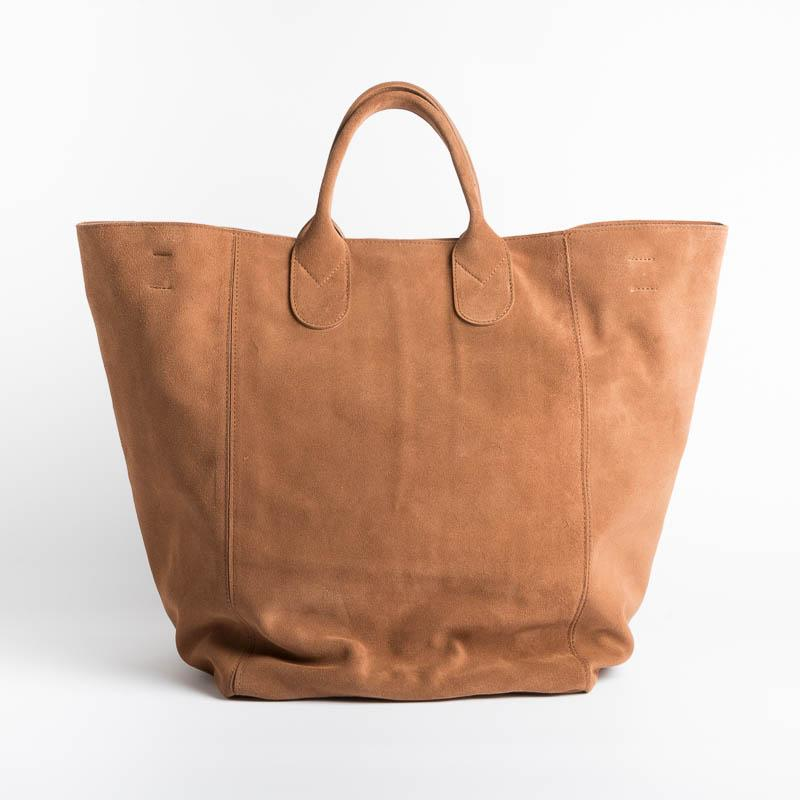 SACHET - Shopping Tote 114 - Suede leather Bags SACHET SUEDE LEATHER