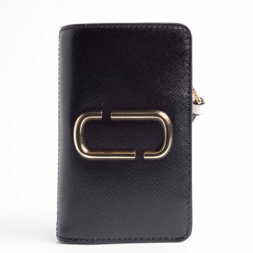 MARC JACOBS - AI 2018/19 - M0014281 - Snapshot Compact Wallet - Nero