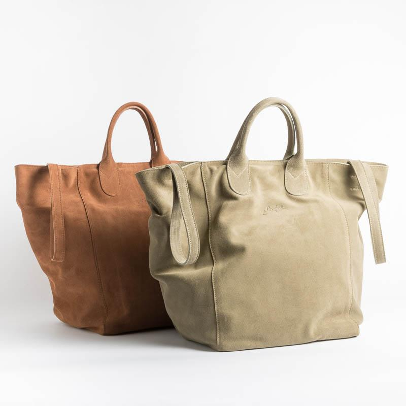 SACHET - Shopping Tote 114 - Suede leather Bags SACHET