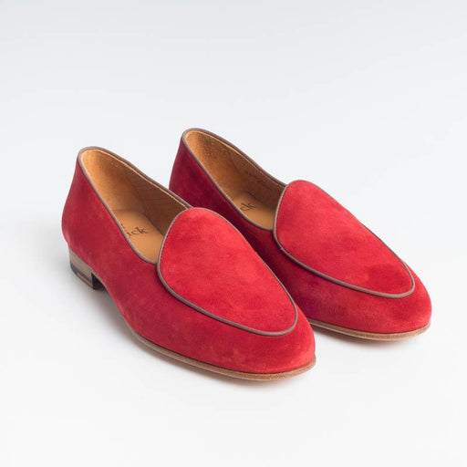 BERWICK 1707 - Woman Moccasin - Pomegranate suede Shoes Woman BERWICK 1707 - Woman Collection