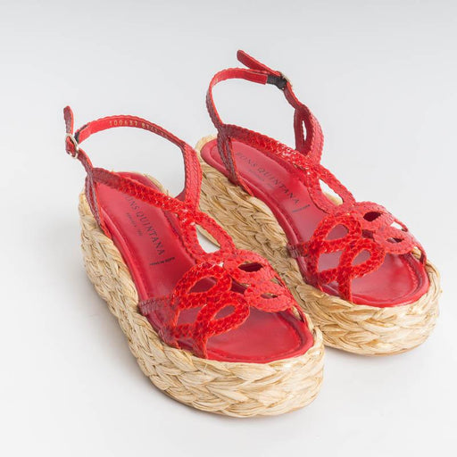 Copy of PONS QUINTANA - ERIKA 8747 Sandals - Red PONS QUINTANA Women's Shoes
