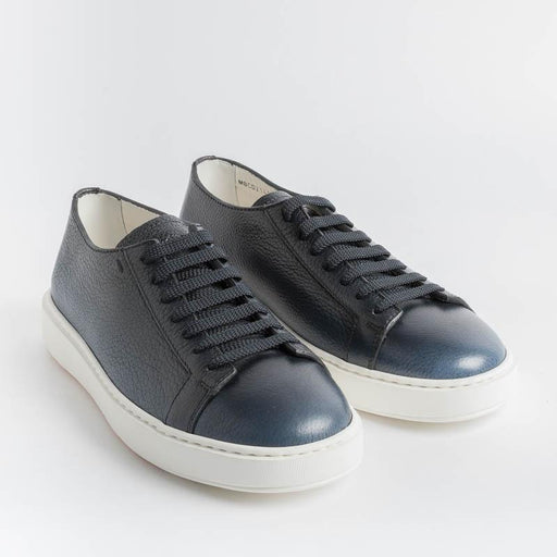 SANTONI Cleanicon - Sneakers - 21430.U60 - Gradient blue Santoni Men's Shoes - Men's Collection