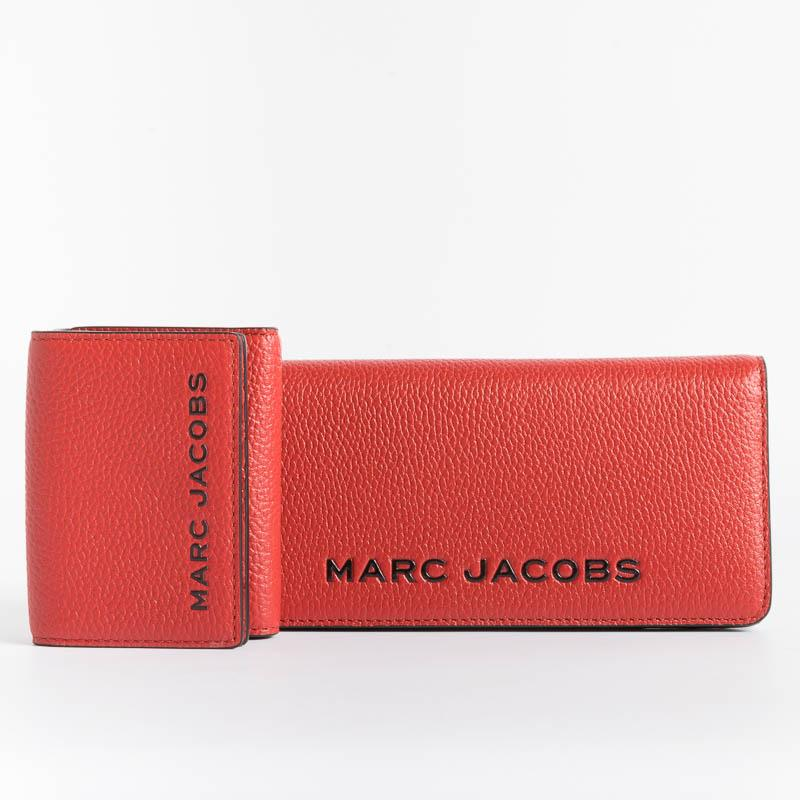 MARC JACOBS - M0017141 - Trifold Wallet - Red Women's Accessories Marc Jacobs