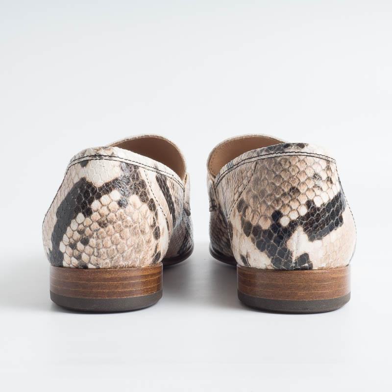 SEBOY'S - Moccasin - 192 - Sand Python Shoes Woman SEBOY'S