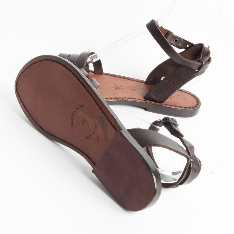 SACHET - Continuativo - Sandal Freetime - 583 Tuf - Dark Brown Shoes Woman SACHET