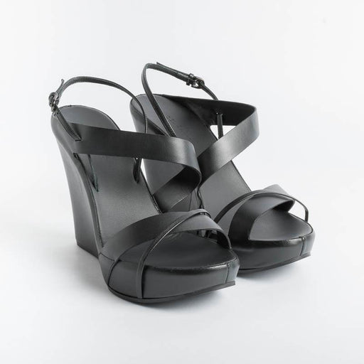 DEL CARLO - Sandals 11124 Skyros - Black Women's Shoes DEL CARLO