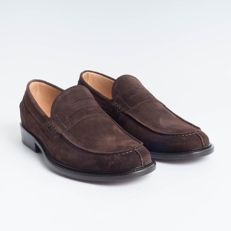 SEBOY'S - 2654 - Dark Brown Velor SEBOY'S Men's Shoes