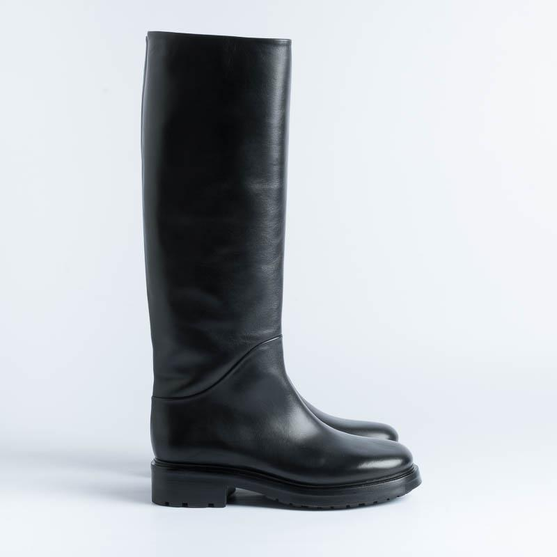 STRATEGIA - A5002 Boot - Talc Black Shoes Woman Strategy