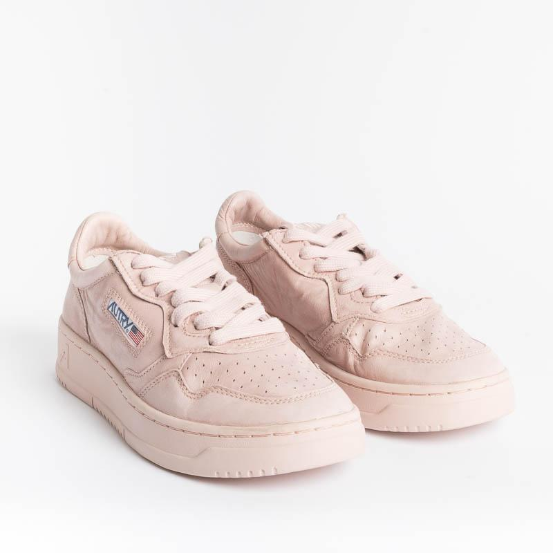 AUTRY AULW NN06 - LOW WOM SOLID GOAT - POW Pink Powder Woman Shoes AUTRY - Woman collection