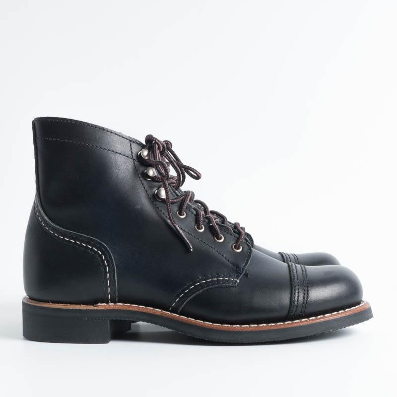 RED WING - 3366 Iron Ranger Black Boundary Women's Shoes Red Wing Shoes