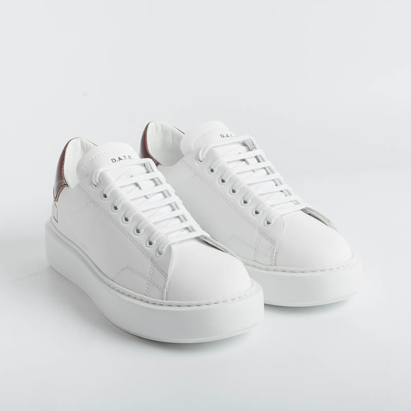 PHILIPPE MODEL - RILD VX07 - Rips - White Pink Philippe Model Paris Women's Shoes