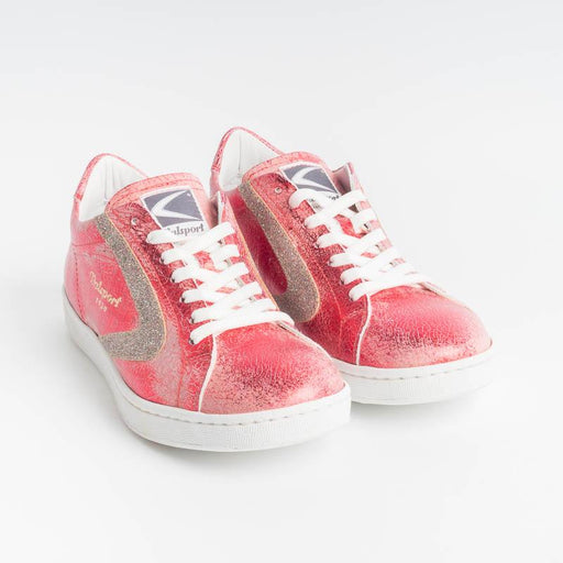 VALSPORT - Sneakers Tournament - Crack Rosso Glitterino Bordeau Scarpe Donna VALSPORT 1920