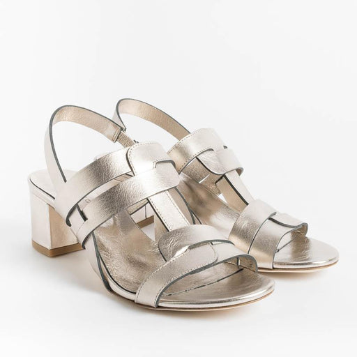 DEL CARLO - Sandals 11115 - Mirror Pirite Women's Shoes DEL CARLO
