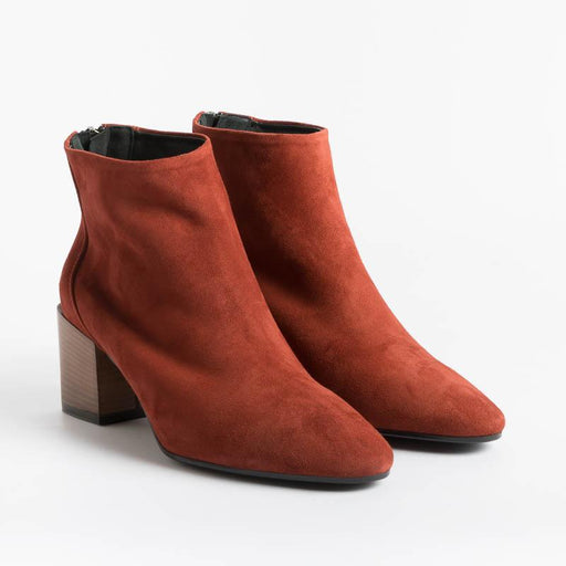 Cappelletto 1948 - Lara3 Ankle Boot - Brick Suede Shoes Woman CAPPELLETTO 1948