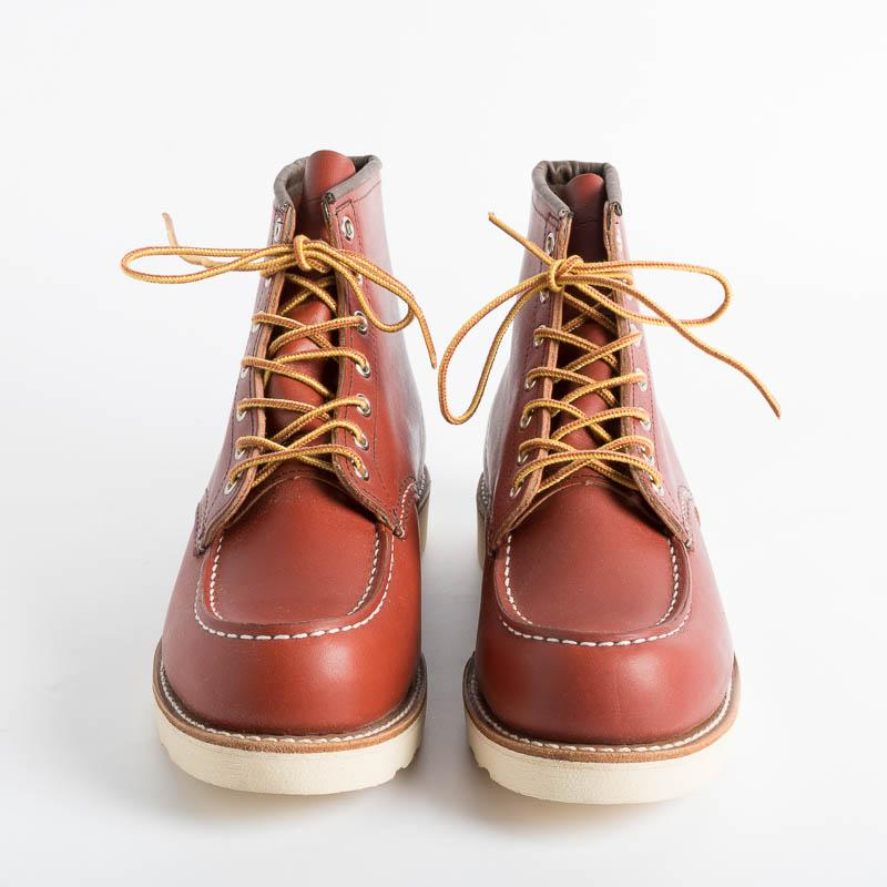 RED WING - Moc Toe 08131 - Gold Russet Shoes Man Red Wing Shoes