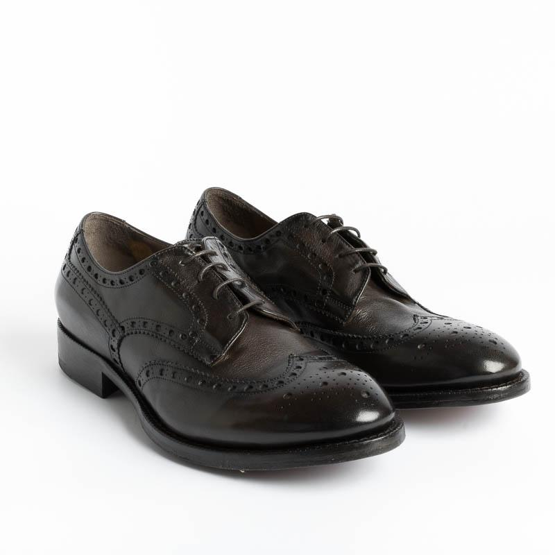STURLINI - Duilio Derby - AR25004AI20 - Cuban Buffalo Men's Shoes STURLINI - Men's Collection