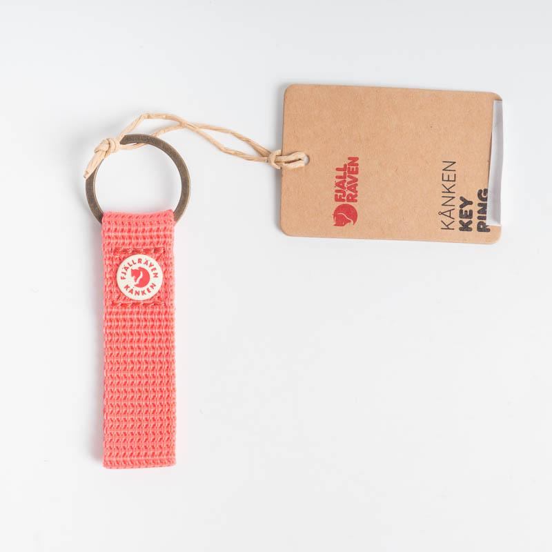 FJÄLLRÄVEN Kånken Key Ring - Various Colors Fjallraven 319 Peach Pink Backpack