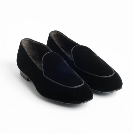 STURLINI - Loafer - ARE3623PAI - Black Velvet STURLINI Women's Shoes