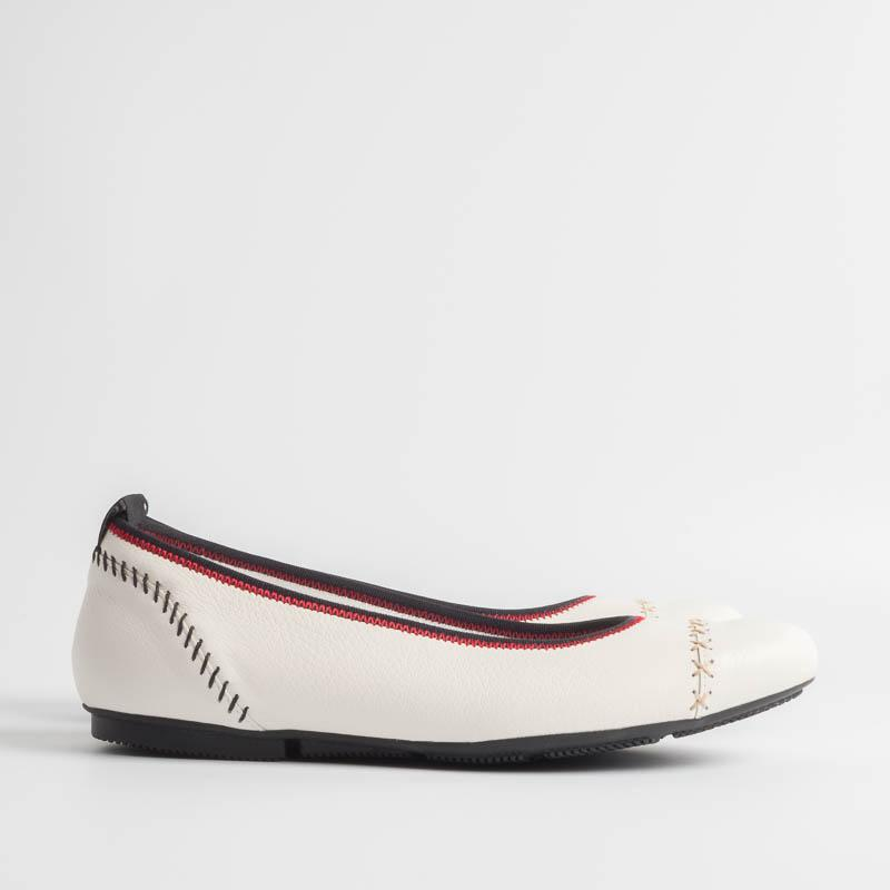 HOGAN - SS 2019 - KCZ - Ballerinas - Platinum White Hogan Women's Shoes
