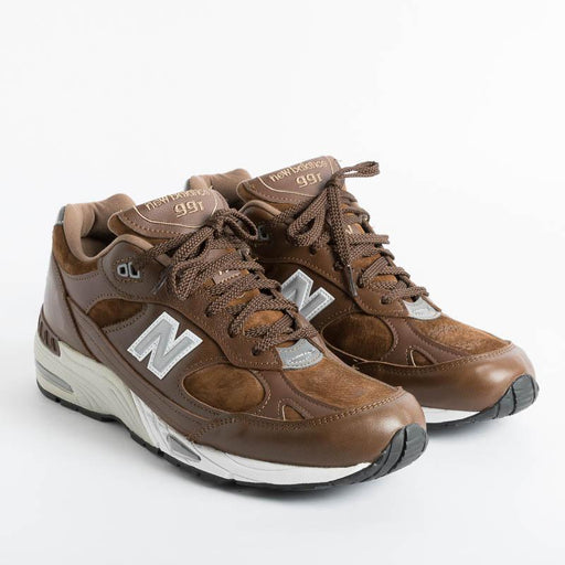 NEW BALANCE - Sneakers 991 LWS - Light Brown Men's Shoes NEW BALANCE - Men's Collection