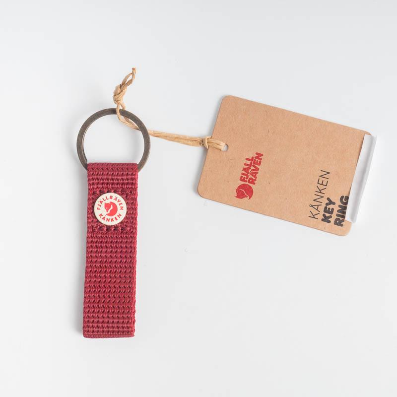 FJÄLLRÄVEN Kånken Key Ring - Various Colors Fjallraven 326 Ox Red Backpack