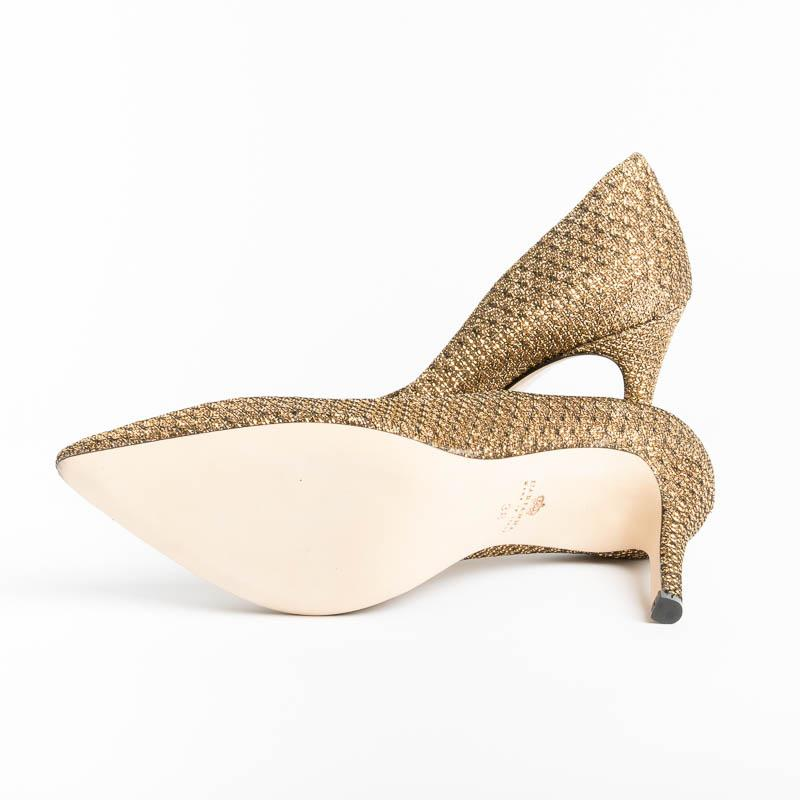 L 'ARIANNA - Decollètè - DE1002 - Toulouse - Gold Women's Shoes L'Arianna