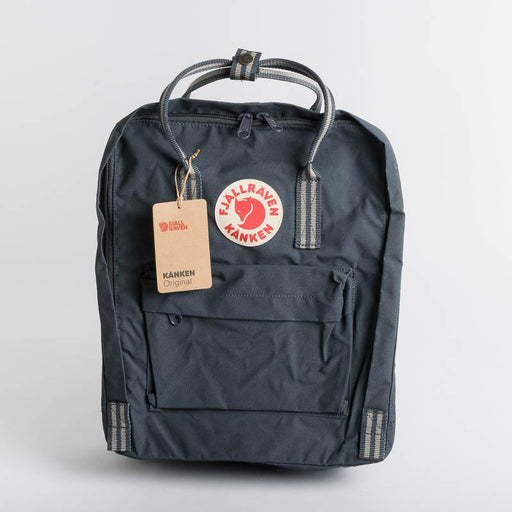 FJÄLLRÄVEN Kånken 560-909 Navy - Long Stripes Backpack Fjallraven