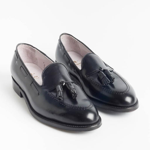 ALDEN - 664 - Tassel Loafer - Horween Black - Call to buy Alden Men's Shoes