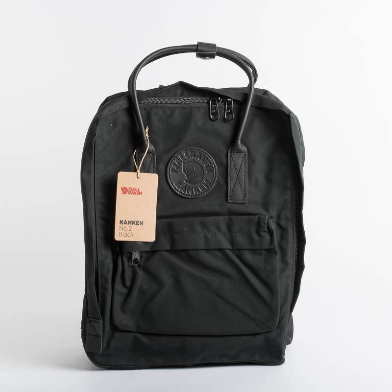 FJÄLLRÄVEN Kånken N2 550 Black Fjallraven backpack