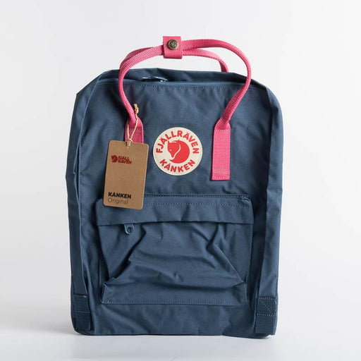 FJÄLLRÄVEN Kånken 540-450 Royal Blue - Pink Flamingo Backpack Fjallraven