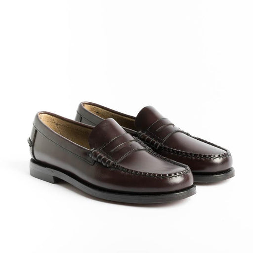 SEBAGO - Loafer DAN - Brown Burgundy Women's Shoes SEBAGO - Women's collection
