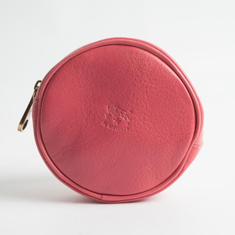 IL BISONTE - SS 2019 - C1100 - Coin holder - Pink Geranium Il Bisonte Women's Accessories