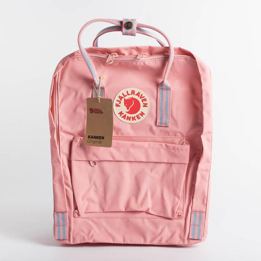FJÄLLRÄVEN Kånken 312 909 Pink Long Stripes Backpack Fjallraven