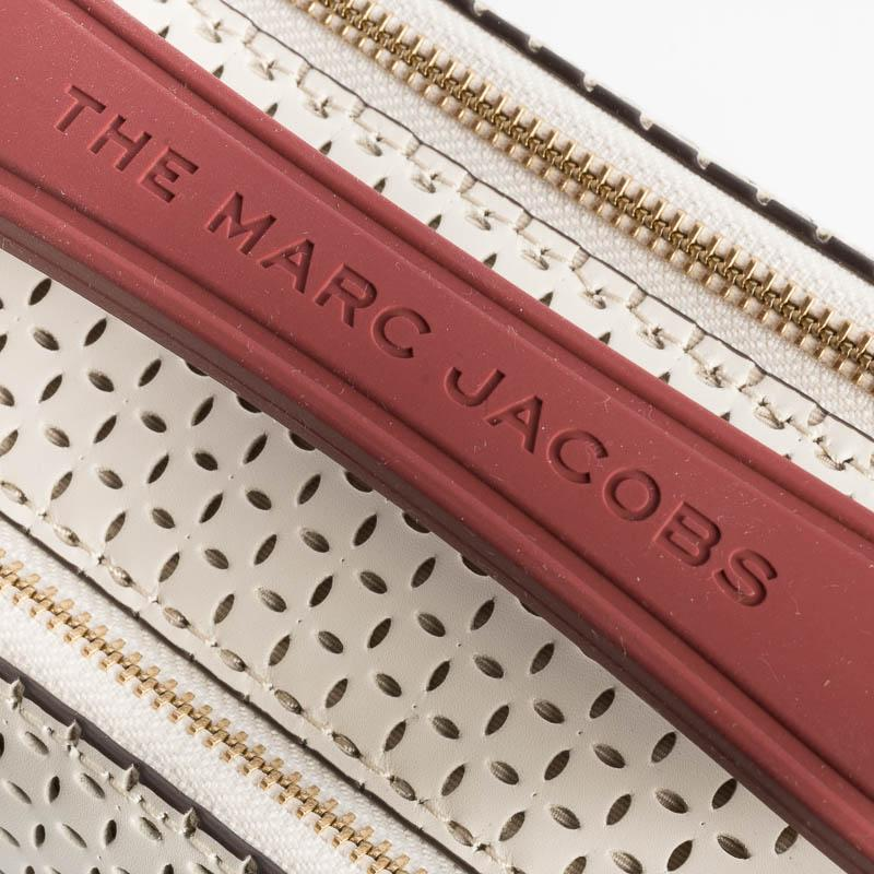 MARC JACOBS - H107L01PF21- The Soft Box Bag - Perforated - Ivory Bags Marc Jacobs
