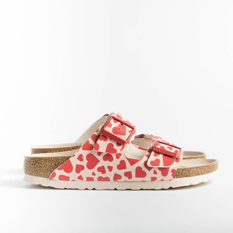BIRKENSTOCK - 1016247 - Arizona BS - Hearts red Women's Shoes BIRKENSTOCK