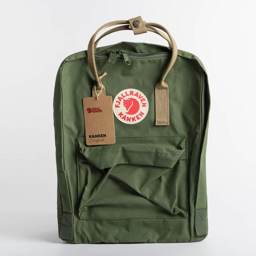 FJÄLLRÄVEN Kånken 621 -221 Spruce Green Clay Backpack Fjallraven
