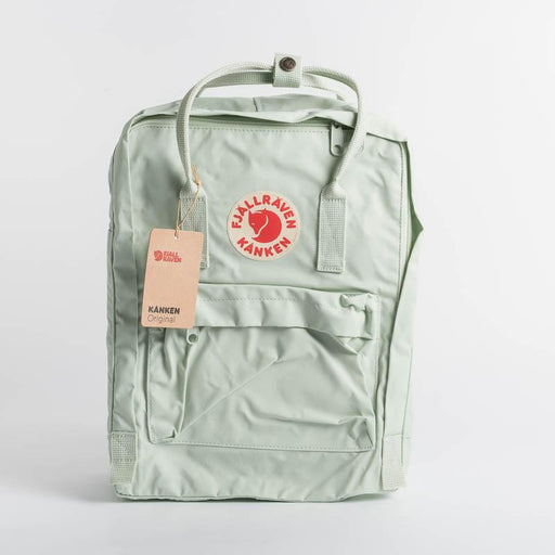 FJÄLLRÄVEN Kånken 600 Mint Green Backpack Fjallraven