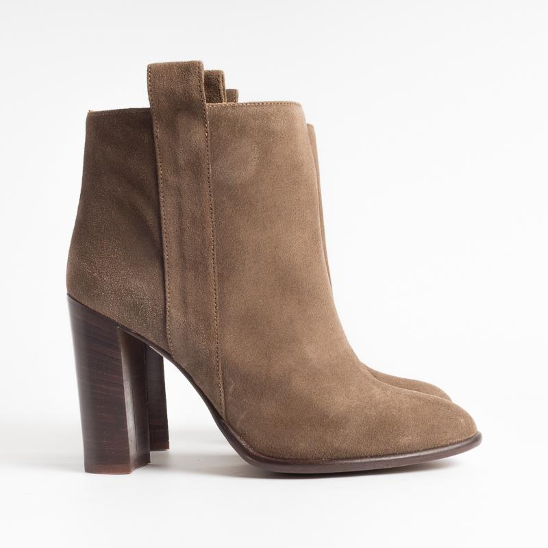 ANNA F. - Ankle boot - 9521 - Velor Military Shoes Woman Anna F.