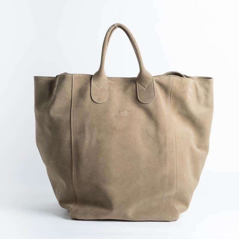 SACHET - Shopping Tote 114 - Sand suede Bags SACHET SAND
