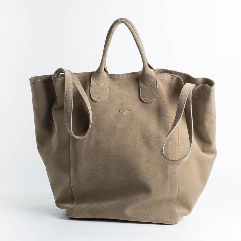 SACHET - Shopping Tote 114 - Sand suede Bags SACHET