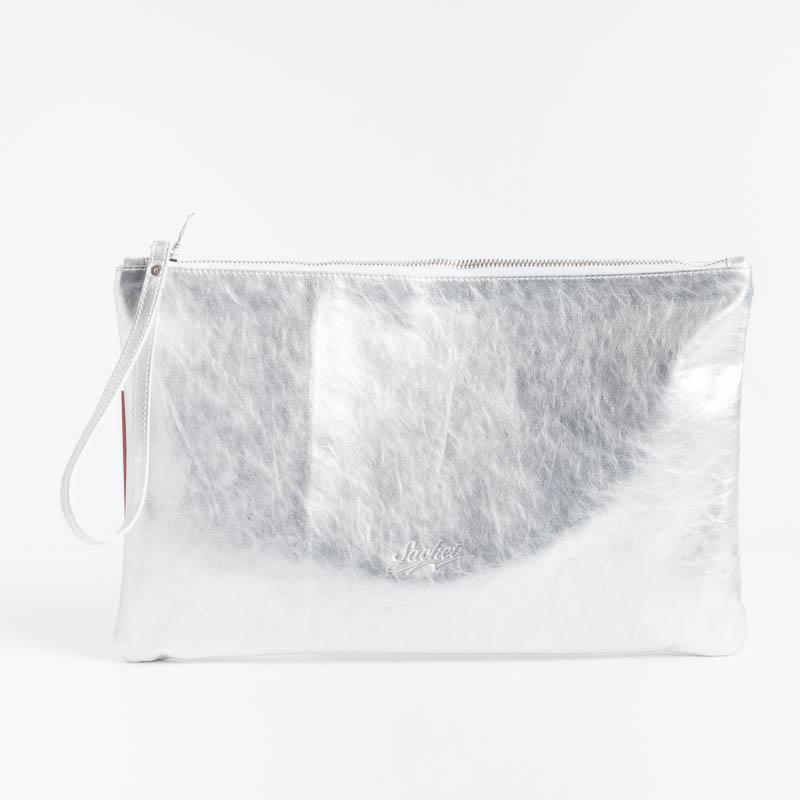 SACHET - Maxi Clutch Bag - P2 - Various Colors Bags SACHET SILVER