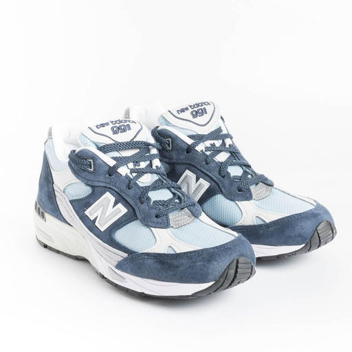 NEW BALANCE - Sneakers 991 NBP - NavyGray/ Light Blue Scarpe Donna NEW BALANCE - Collezione Donna